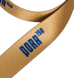 Gift ribbon with logo